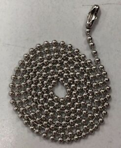 500 Stainless Steel Ball Chains 4 5 Dog Tag Bead Chain