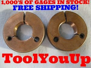 1 4864 14 Ns 2a Special Size Go No Go Thread Ring Gage P d s 1 4383