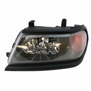 Headlight Headlamp W Black Bezel Driver Side Left Lh For 00 04 Montero Sport