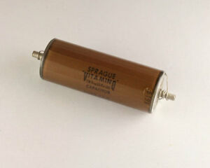 New Sprague 0 1uf 5000v Vitamin Q High Voltage Oil Capacitor American Made