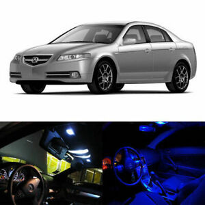 6 X Led Full Interior Lights Package Deal For 2004 2008 Acura Tl Type S