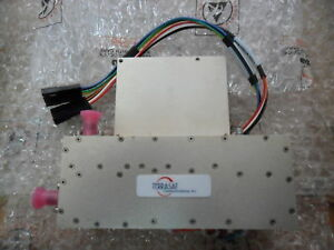 Terrasat Rf Microwave 7 7 8 5 Ghz Transmitter Power Amplifier Ed 0197 9