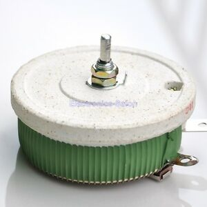 200w 100 Ohm High Power Wirewound Potentiometer Rheostat Variable Resistor