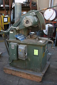 Stone Machinery 20 Abrasive Cutoff Saw 3ph 7 5 Hp 2500 Rpm m750