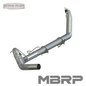 Mbrp 4 Exhaust For 98 02 Dodge Ram Cummins Diesel 5 9l No Muffler Straight Pipe
