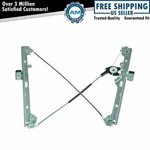 Power Window Regulator Front Driver Side Left Lh For Chevy Gmc Cadillac
