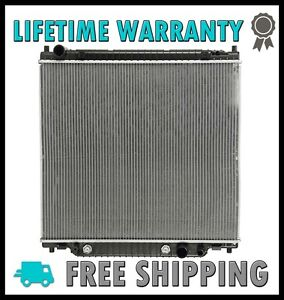 New Radiator For Ford Excursion F 250 F 350 F 450 F 550 7 3 V8 6 8 V10 2 Row