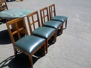 Conference Room Or Guest Chairs Wood Frames W leather Cushion Wedeliverlocallyca