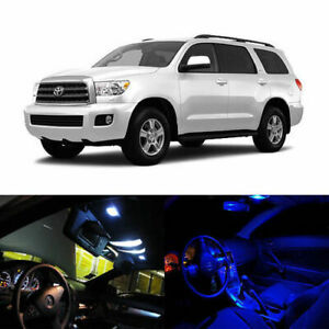 10 X Led Full Interior Lights Package Deal For 2008 And Up Toyota Sequoia