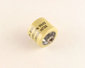 1x 50pf 7500 V Dc Ceramic Rf Transmitting Capacitor High Voltage 00005uf 7 5kv
