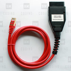 Bmw Enet Ethernet To Obd Interface Cable E Sys Icom Coding F Series Us Seller
