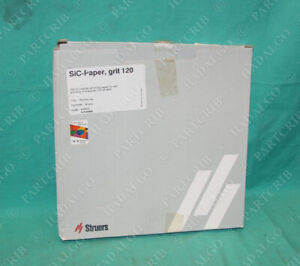 Struers Sic Waterproof Silicon Carbide Grinding Paper Grit 120 250mm 50pcs 120p