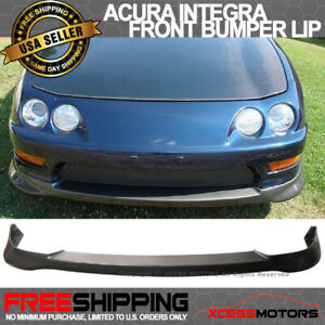 Fit 98 01 Acura Integra Type R Dc2 Pu Jdm Front Bumper Lip Spoiler