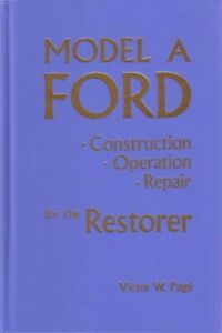 1928 1929 1930 1931 Ford Model A Shop Service Repair Manual Engine Drivetrain Oe