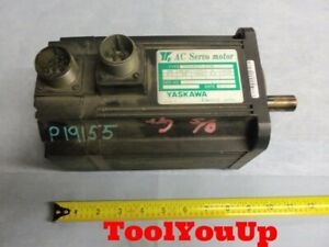 Yaskawa Ac Servo Motor Usamed 03mb2s 1000 Rpm 0 3kw Electric Electrical Tooling