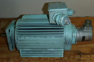 Ge General Electric Ac Motor 5k38un282q _ E25bf 6r sb 2048 abzc 8830 led sm18 s