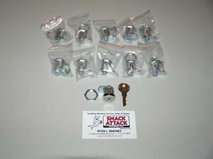 Vendstar 3000 10 159 Top Lid Locks 4 Keys New Free Ship