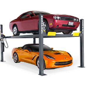 Bendpak 9 000 Lb Capacity 4 Post Auto Lift Hd 9 Car Body Repair Hoist