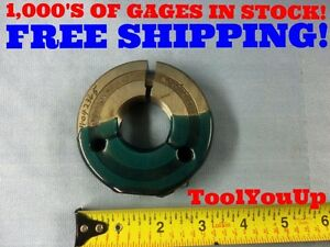 1 3 8 16 Un 3a Thread Ring Gage No Go Only 1 375 P d 1 3306 Inspection Tools