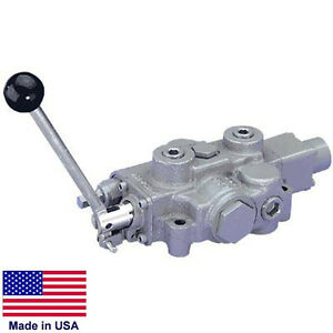 Hydraulic Spool Control Valve 4 Way 3000 Psi 30 Gpm 3 4 Inlet outlet