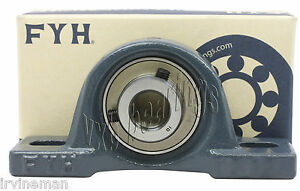 Ukpx09 Fyh 1 1 2 Pillow Block Tapered Bore With Adapter Mounted Bearings