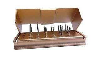 Dental 18 Diamond Burs Combo Porcelain Cutting Composite Finishing Kit 18