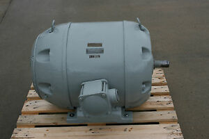 60hp Louis Allis Motor 3550rpm 504s Frame 220 440 Volt see Video