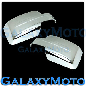 Triple Chrome Mirror Cover For 2007 2015 Jeep Patriot 2008 2012 Jeep Liberty