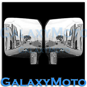 Triple Chrome Plated Full Mirror Cover A Pair For 07 17 Jeep Wrangler