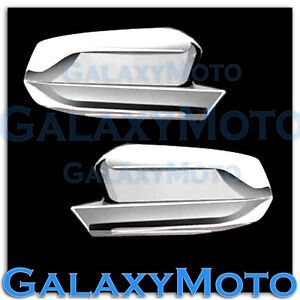 2010 2012 Ford Mustang Chrome Plated Full Abs Mirror Cover A Pair 10 12