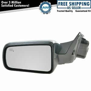 Chrome Power Heated Side Mirror Left Lh For 08 11 Focus
