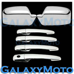 06 12 Ford Fusion 06 Lincoln Zephyr Chrome Mirror 4 Door Handle No Psg Kh Cover