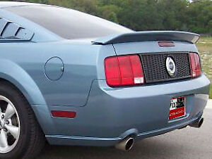 Primer Unpainted For Ford Mustang 2005 2009 Cobra Gt Style Spoiler Wing New