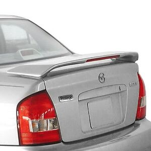 Un Painted Rear Spoiler Wing For 1999 2003 Mazda Protege W Light Abs Plastic