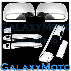 Chrome Mirror 2 Door Handle Tailgate Camera Hole Cover For 05 11 Toyota Tacoma