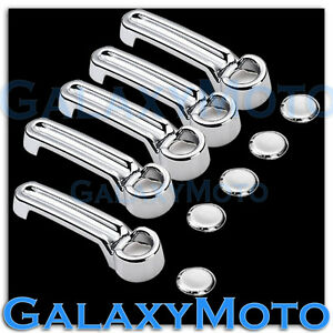 2008 2012 Jeep Liberty Triple Chrome Plated Abs 4 1 Door Handle Cover Kit Set