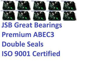 10 5 8 Ucf202 10 Quality Square Flanged Ucf202 Pillow Block Bearing Ucf 202