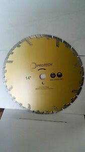 14x130x1 Diamond Blade ductile Iron