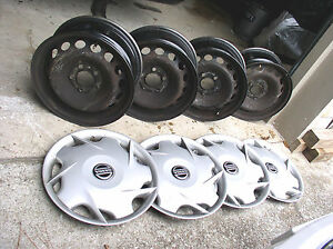 Volvo S c 60 70 80 V70 850 Steel Wheels Fifteen Inch 15