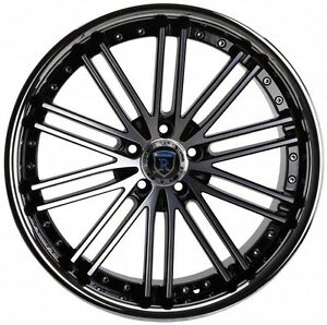 20 Rohana Rc20 Staggered Wheels 5x114 3 Machine Fits Ford Mustang 1994 2004