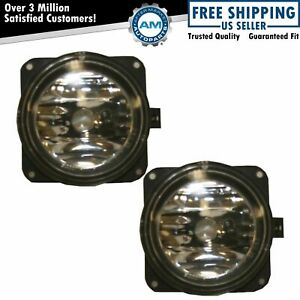 Fog Driving Lamps Lights Pair Set For Lincoln Ls Escape Focus Mustang