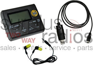 New Uhf Pit Crew Scanner Fm Radio Kit 2400 Frequencies 50ch Ham Racing