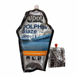 440ml Bag U Pol Dolphin Ultra Fine Finishing Glaze Up0714 Auto Body Repair