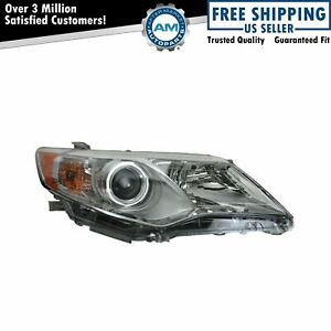 Headlight Headlamp Passenger Side Right Rh For 12 13 Toyota Camry Le Xle