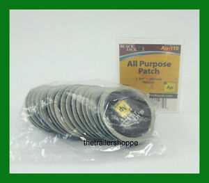 Blackjack Tire Tube Repair Patch 1 3 4 45mm Round All Purpose 20 Pc Ap 110