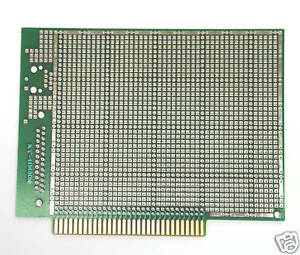10pc Fr4 Pcb Board Double Side Kt 11148dx Size 140x101x1 6mm Slot 2 54mm 31x2p