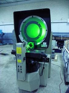 30 Ogp Xl827 Optical Comparator 3 Lenses Dro As Is Clearance Price