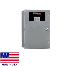 Transfer Switch Commercial industrial 200 Amp 120 240v 1 Phase Nema 3r