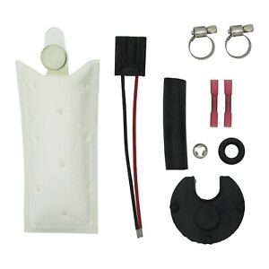 Fuel Pump Install Kit W Strainer Plug Connector Pigtail For Walbro 255lph