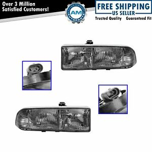Headlamps Headlights Lh Rh Pair Set Of 2 For Blazer S10 Truck Jimmy S 15 Sonoma